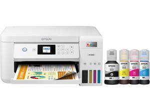 Epson EcoTank ET-2850 White Wireless Color All-in-One Printer (C11CJ63202)