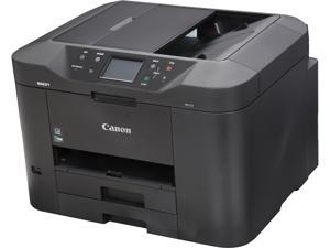 Canon MAXIFY MB2720 ESAT: 24.0 ipm Black Print Speed 600 x 1200 dpi Color Print Quality InkJet MFC / All-In-One Color Printer - Inkjet Printers