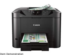 Canon MAXIFY MB5120 ESAT: 24.0 ipm Black Print Speed 600 x 1200 dpi Color Print Quality InkJet MFC / All-In-One Color Printer - Inkjet Printers
