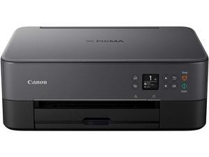Canon TS Series PIXMA TS5320 Approx. 13.0 ipm Black Print Speed Up to 4800 x 1200 dpi Color Print Quality Wi-Fi InkJet All-In-One Color Printer - Black