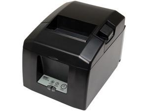 Star Micronics 39449590 TSP650II Series Direct Thermal Receipt Printer - Gray - TSP654IID-24 GRY US