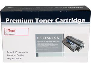 Rosewill RTCA-CE505X-C2 Compatible High Yield Toner Cartridge Replaces HP 05X CE505X; Black