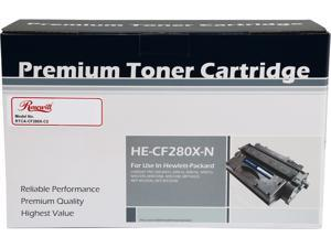 Rosewill RTCA-CF280X-C2 Compatible Toner Cartridge (Replaces HP CF280X, 80X) 6,900 Pages Yield; Black