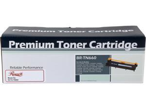 Rosewill RTCA-TN660 Toner Cartridge (OEM# Brother TN660 & TN-630) 2,600 Pages Yield; Black