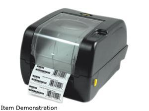 "Wasp 633808402013 WPL305 TT Label Printer W/Cutter, 5"" Od, 5IPS"