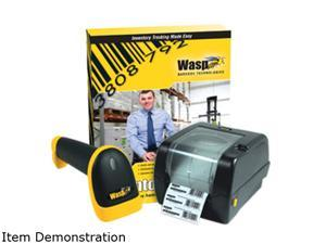 Wasp Inventory Control 633808920647 Direct Thermal/Thermal Transfer Printer Up to 5 inches per second 203 dpi WPL350 with Inventory Tracking Solution & WWS550i