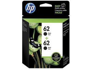 HP 62 Ink Cartridge - Dual Pack - Black