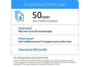 HP Instant Ink, 1st Month Enrollment Key, 50 Page Plan (1VU18AN)