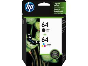 HP 64 Ink Cartridge - Combo Pack - Black/Cyan/Magenta/Yellow