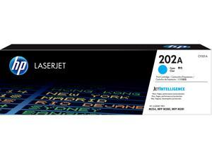 HP 202A LaserJet Toner Cartridge - Cyan