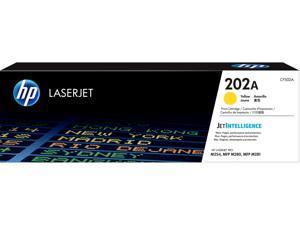 HP 202A LaserJet Toner Cartridge - Yellow
