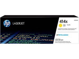 HP 414X High Yield LaserJet Toner Cartridge - Yellow