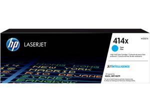 HP 414X High Yield LaserJet Toner Cartridge - Cyan