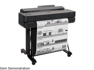 """HP DesignJet T650 Large Format Wireless Plotter Printer - 24"""", with Convenient 1-Click Printing (5HB08A)"""