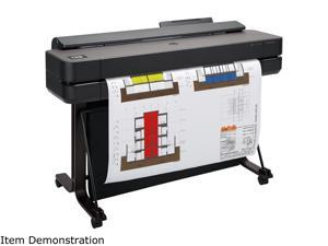"""HP DesignJet T650 Large Format Wireless Plotter Printer - 36"""", with Convenient 1-Click Printing (5HB10A)"""