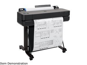 """HP DesignJet T630 Large Format Wireless Plotter Printer - 24"""", with Mobile Printing (5HB09A)"""