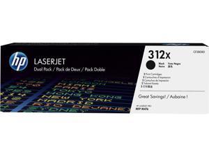 HP 312X High Yield LaserJet Toner Cartridge - Dual Pack - Black