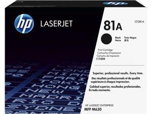 HP 81A LaserJet Toner Cartridge - Black