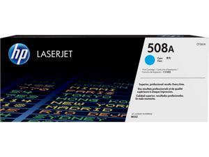 HP 508A LaserJet Toner Cartridge - Cyan