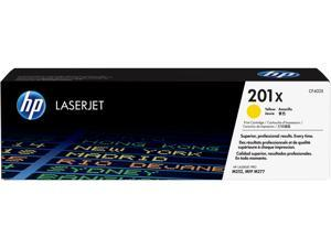 HP 201X High Yield LaserJet Toner Cartridge - Yellow