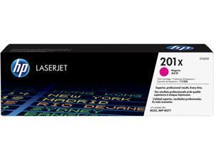 HP 201X High Yield LaserJet Toner Cartridge - Magenta