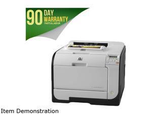 HP LaserJet M451dn 600 x 600 dpi USB/Ethernet Duplex Color Laser Printer come with brand new toner
