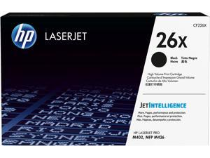 HP 26X High Yield LaserJet Toner Cartridge - Black