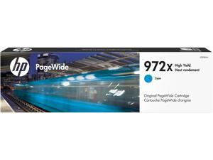 HP 972X High Yield Ink Cartridge - Cyan