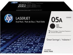 HP 05A LaserJet Toner Cartridge - Dual Pack - Black