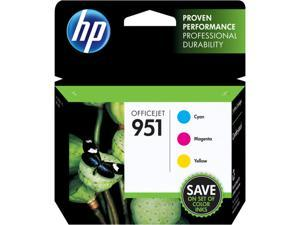 HP 951 Ink Cartridge - Combo Pack - Cyan / Magenta / Yellow