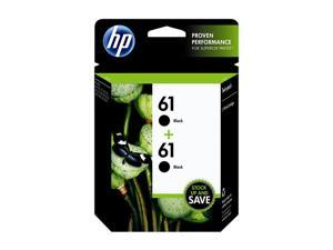 HP 61 Ink Cartridge - Dual Pack - Black