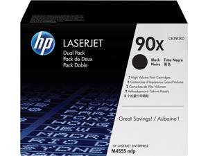 HP 90X High Yield LaserJet Toner Cartridge - Dual Pack - Black