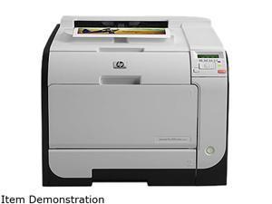 HP LaserJet Pro 400 M451dn (CE957AR#BGJ) Up to 21 ppm 600 x 600 dpi USB/Ethernet Duplex Color Laser Printer