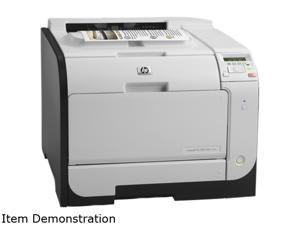 HP LaserJet Pro 400 M451dw (CE958AR#BGJ) Up to 21 ppm 600 x 600 dpi USB/Ethernet/Wireless Duplex Color Laser Printer