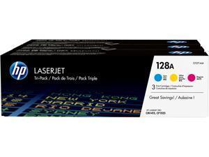 HP 128A LaserJet Toner Cartridge - Tri-Color Pack - Cyan/Magenta/Yellow