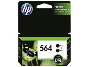 HP 564 Ink Cartridge - Dual Pack - Black