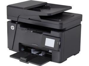 HP LaserJet Pro M127fw (CZ183A) Up to 21 ppm 600 x 600 dpi Monochrome USB/Ethernet/Wireless All-in-One Laser Printer
