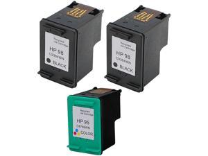 Green Project Inc. Compatible Black/Color Ink Cartridge (Alternative for HP 98/95/C9364WN/C8766WN)