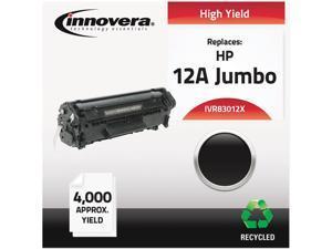 Innovera IVR83012X Black Compatible Remanufactured Q2612X (12J) Laser Toner