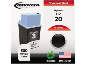 Innovera Compatible Black Ink Cartridge (Alternative for HP 20/C6614DN)