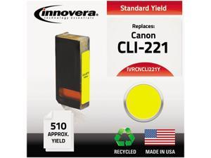 Innovera IVRCNCLI221Y Yellow Ink Cartridge