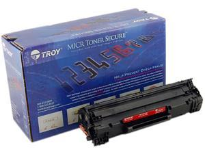 Troy 02-82000-001 MICR Secure Toner Cartridge (Alternative for HP 78A/CE278A) - Black