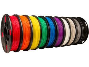 True Color Small PLA Filament-10 Pack