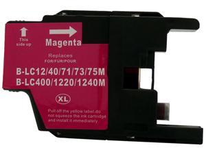 Green Project B-LC75M Magenta Ink Cartridge Replaces Brother LC75M