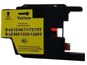 Green Project B-LC75Y Yellow Ink Cartridge Replaces Brother LC75Y