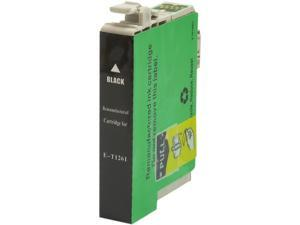 Green Project E-T1261 Black Ink Cartridge Replaces Epson T126120
