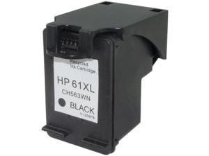 Green Project Inc. Compatible Black High Yield Ink Cartridge (Alternative for HP 61XL/CH563WN)