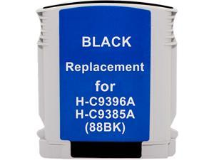 Green Project Inc. Compatible Black High Yield Ink Cartridge (Alternative for HP 88XL/C9396AN)
