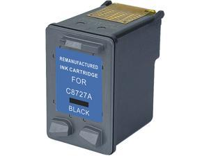 Green Project Compatible Black Ink Cartridge (Alternative for HP 27/C8727AN)