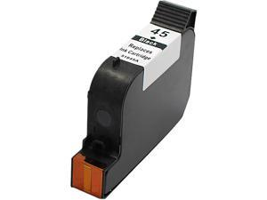 Green Project Inc. Compatible Black Ink Cartridge (Alternative for HP 45/51645A)
